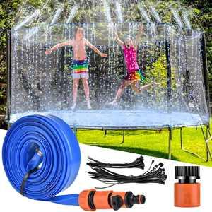 LETIGO Trampoline Sprinkler, 39 ft/12M Outdoor Trampoline Water Sprinkler for Fun Summer Water Game Sprinkler