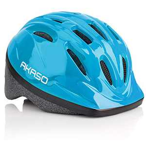 AKASO K1 Kids Bike Helmet Tiktok- CPSC Certified Toddler Bike Helmet Adjustable from Toddler to Youth Size, Ages 1-8 (Blue, Small)