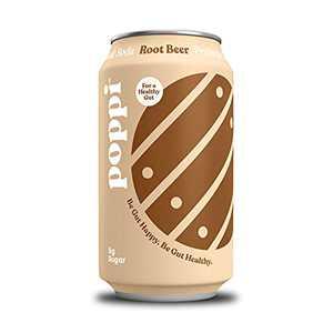 Poppi Root Beer Prebiotic Soda Multipack, 12 OZ