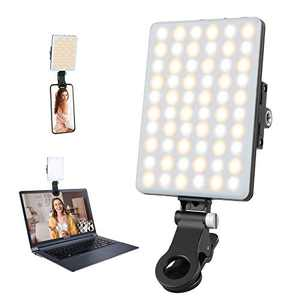 Video Conference Lighting, 10 Levels Dimmable Video Light for Laptop, Camera Light for Zoom Calls, Remote Working, Live Streaming, Self Broadcasting, Webcam Lighting for Zoom Meeting by YOTUTUN