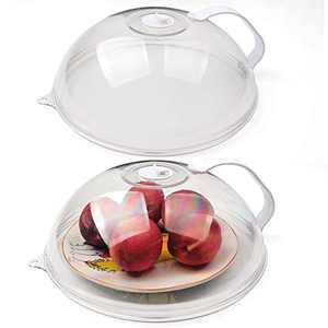 Broadtech Microwave Splatter Cover, Microwave Cover for Food, Microwave Plate Cover Guard Lid with Steam Vents