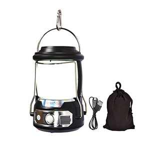 Lightweight Rechargeable Camping LED Lantern, 3 Modes Power Band Camping Lights Flashlight for Hiking, Fishing, Repairing and Emergency Lighting, Survival Kits for Power Outage Hurricane Ice Storm