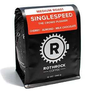 Rothrock Coffee - Singlespeed - Medium roast - Whole bean coffee - Blend coffee - 12oz Bag