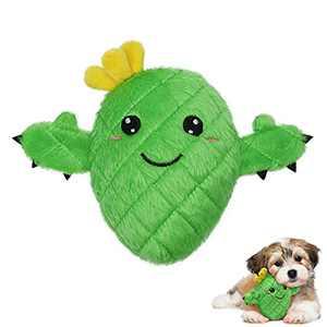 Dog Squeak Toys Stuffed Animals Chew Toy Hound Invincibles Dog Toy Stuffingless Squeaky Plush Dog Toy (XRZ)