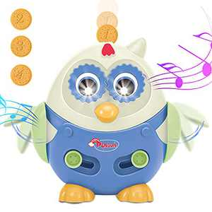 UNIH Penguin Musical Toys for Toddlers,Learning Toys for 1 Year Old,Fine Motor Toys for Toddlers 1 2 Year Old