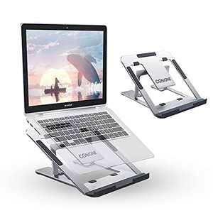 CGNiONE Laptop Stand, Aluminum Computer Riser with Heat-Vent, Adjustable Notebook Stand Holder, Ergonomic Stand Compatible with 10-15.6 Inch Notebook Computer