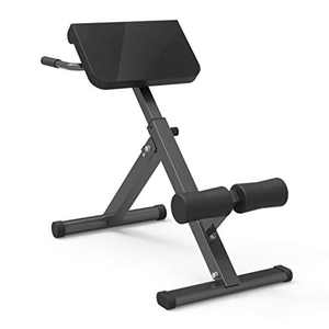 Household Weight Bench,Foldable Exercise Bench Roman Chair With Adjustable,Back Waist Training,Strength Training Core Workout Training/Leg Exercise/Sit Up/Push Up