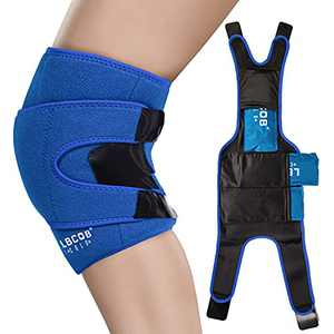 Knee Ice Pack with Professional Wrap 3pcs Hot and Cold Therapy Reusable
