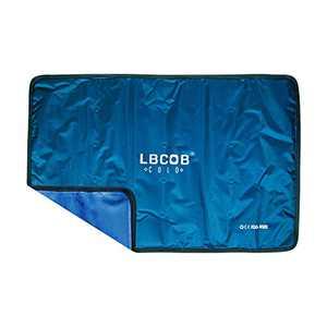 "Gel Ice Pack Reusable (15"" x 11"") Flexible Cold Gel Packs Ice Blanket for Knee, Arm, Elbow, Shoulder, Back"