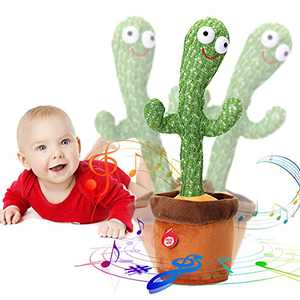 Dancing Cactus, Singing Cactus Toy, Cactus Plush Toy for Home Decoration and Children Playing, 1PC
