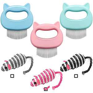 Cat Combs,Cat Massage Grooming Comb and Dog Massage Grooming Comb for Matted Tangled Hair, Cat Combs for Deshedding , Cat Shell Comb,Pet Shell Comb Suitable for Pet Cats and Dogs