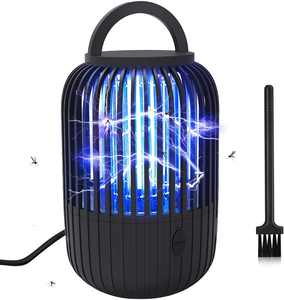 SUPCHON Bug Zapper, UV Insect Killer Lamp, 60 Square Meters Coverage, 12W Powerful Fly Zappers 365NM Lamp with Drawer for Living Room, Bedroom and Children's Room