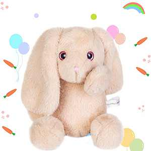 """Stuffed Animals Toy, 12"""" , Light Brown Bunny Plush Doll Toy Kids Boys Girls Plush Toy - Gifts for Birthday, Holiday Celebration, Easter Festival, Factory Direct Supply"""