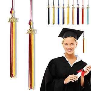 """Graduation Tassel 2021, Tassels for Graduation Cap 2021, 2021 Tassel Charm, 9"""" Graduation Tassels"""