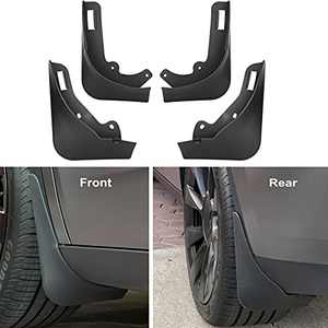 Nansure Mud Flaps for Tesla Model Y Splash Guards Mudguard Mudflaps Car Accessories for Model Y, No Need to Drill Holes(Set of 4)
