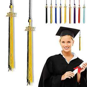 """Graduation Tassel 2021, Tassels for Graduation Cap 2021, 2021 Tassel Charm, 11"""" Graduation Tassels"""