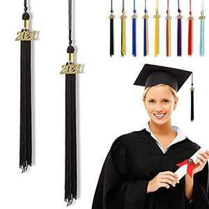 """Graduation Tassel 2021, Tassels for Graduation Cap 2021, 2021 Tassel Charm, 10"""" Graduation Tassels"""