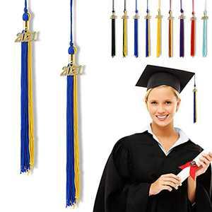 """Graduation Tassel 2021, Tassels for Graduation Cap 2021, 2021 Tassel Charm, 14"""" Graduation Tassels"""