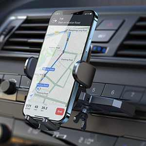 CD Phone Holder for Car, [Ultra Sturdy] AINOPE Car Phone Mount, [Silicone Protection] Universal CD Slot Phone Holder Compatible with All iPhone & Cell Phones, for Smartphone