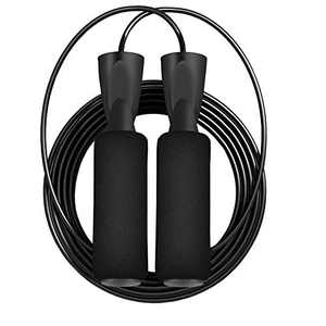 SOUSEE 2 Pack Adjustable Jump Rope for Men Women Fitness Skipping Rope for Exercise 9ft
