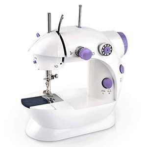 Portable Sewing Machine, Mini Electric Sewing Machines, Household Lightweight Hand Sewing Machine for Beginners/Kids/Tailors/Arts/Crafting/DIY