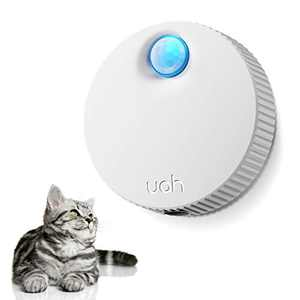 uahpet Cat Litter Deodorizer Unscented Litter Box Odor Eliminator 80% Deodorization 99.9% Dust-Free 7-Day Battery Life Genie for All Kinds of Cat Litter Box Bathroom Wardrobe Kitchen and Small Area