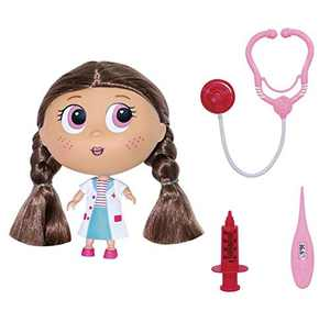 Baby Dolls for 3 4 5 year old girls, Doctor Kit for Kids Realistic, Role-Playing Play Doctor Set, Baby Doll Set with Doctor Doll, Stethoscope, Syringe and Thermometer Pre-School Educational Toys