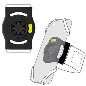 Bone Run Tie Connect (Armband Connector), The Base of 360° Rotation Running Armband for Detachable Universal Phone Holder, Choose Phone Tie Connect and Optional The Sizes of Arm Straps