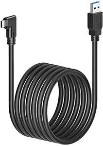 16ft Oculus Link Cable for Oculus Quest 2 and Oculus Quest VR Headset, High Speed Charging Cord for Oculus Quest Headset and Gaming PC