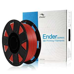 Ender PLA Filament 1.75mm, Creality Series Filament Bundle, 1kg (2,2lbs) Spool, Dimensional Accuracy±0.03 mm Fits for Most FDM 3D Printer-red