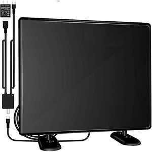 HD TV Antenna (120 Mile Range), Antenna TV Digital HD Indoor,4K HD VHF UHF Television Local Channels Detachable Signal Amplifier