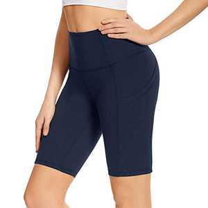 GAYHAY High Waist Yoga Pants with Pockets for Women - Soft Tummy Control 4 Way Stretch Capri Leggings for Workout Running