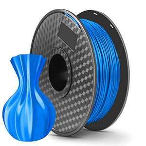 LONENESSL 3D PLA Printing Filament 1.75mm 1KG Spool Printer Filament Bundle, Dimensional Accuracy +/- 0.02 mm Printer Consumables Blue