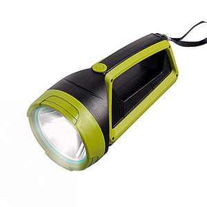 KINSACH Emergency Camping Flashlights, USB Charging Handheld Lamp Portable Searchlight Charging Remote LED Flashlight for Camping Exploring Searching Hiking