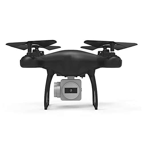HR SH4 Drone with 1080p HD Camera for Adults and Kids,2.4 WiFi FPV Live Video, Altitude Hold 3D Flips, Headless Mode, Easy to Use for Beginner(Black)