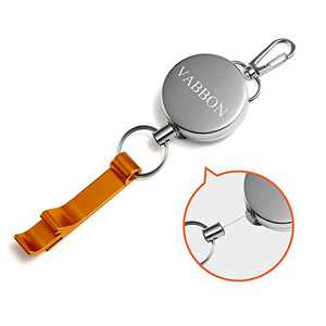 Beer Openers Keychain, Novelty Bottle Openers Handheld for Men, Portable Retractable Bottle Opener Blank,Travel Carrying,Hotel Application,Party,Barbecue,Mountaineering Outdoor, Bar Wine Openers
