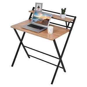 All Kinds of Desk Study Desk Computer Desk Portable Laptop Table (F)