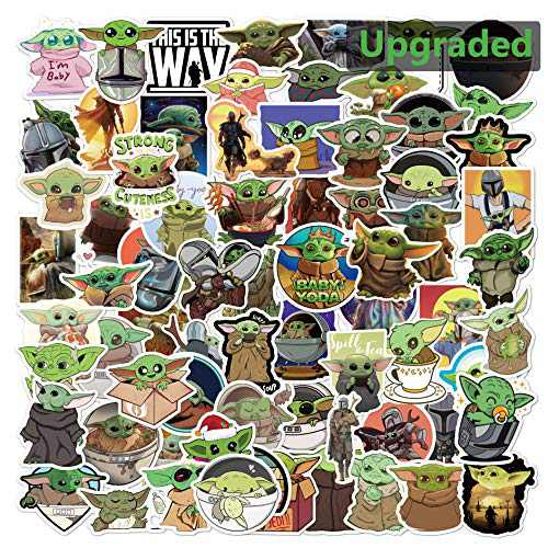 Waterproof Cartoon Stickers Stocking Stuffers Birthday for Kids Adults Teens Girls Boys Him Cheap Funny Cool Gadget Under 10 Dollars Men Women Have Everyting Sisters Friend