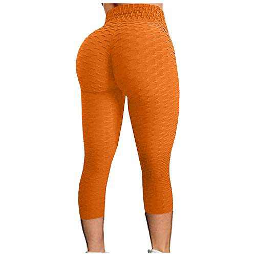Tinani Women's Bubble Hip Lifting Exercise Fitness Running High Waist Yoga Pants