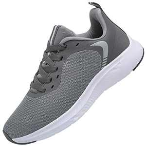 DAFENGEA Running Tennis Shoes Walking Lightweight Breathable Sports Sneakers Shoes Women Men,XZ728-Darkgrey-45