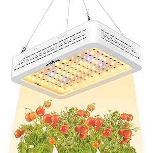 ATSHARK led Grow Lights, 1000W Grow Lamp for Indoor Plants with Full Spectrum, Energy Efficient Plant Grow Light for Hydroponics Indoor Plants, Double Switch, Adjustable Rope (10WLEDs 100Pcs)