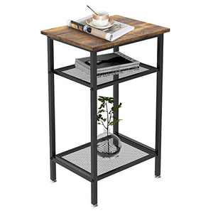 YITAHOME End Table Sofa Side Table Small Console Table with Storage Small Entryway Side Table Kitchen Table for Living Room Kitchen