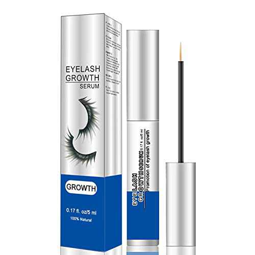 Premium Eyelash Growth Serum and Eyebrow Enhancer Brow Serum with Biotin & Natural Growth Peptides for Longer, Fuller Thicker Lashes & Brows