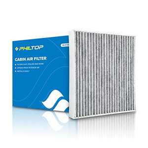 PHILTOP Cabin Air Filter, Replacement for CF10285 CP285 4Runner Camry Corolla Tundra Highlander Avalon Prius Sequoia IS250 RX350, Premium Cabin Filter with Activated Carbon Filter Up Dust Pollen Oder