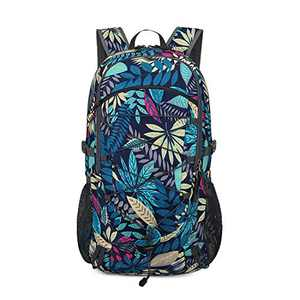 Loowoko Unisex 40L Backpack Lightweight Packable Daypack for Hiking Backpacking Camping Traveling