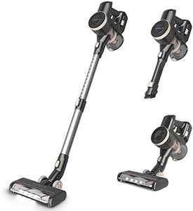 ORFELD Cordless Vacuum, 22000Pa Hurricane Suction Stick Vacuum 4 in 1, 45 mins Runtime, Dual Hepa Filtration Vacuum Cleaner (Black)