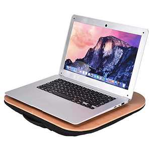 """Small Lap Desk with Comfortable Cushion & Pc Holder,Lap Desk for Laptop, Tablet, Books, and More 