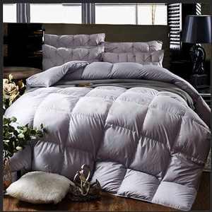 Cheeerrrs Dark Grey Down Alternative Comforter Lightweight Bedding Comforters All Season-Duvet Insert Comforter with Coner Tabs-Oversized Queen(98x98 inches)