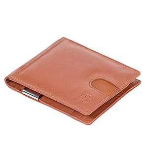 FB Premium Smart Wallet with RFID (Classic Brown)
