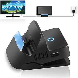 Switch Dock Compatible with Switch, binbok Portable Switch TV Dock Switch Charging Docking Station HDMI Adapter USB 3.0